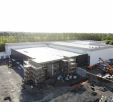 Structural Steel & Cladding for New Medical Facility Building