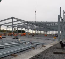 Shannon Commercial Properties - steelwork by Brady Engineering