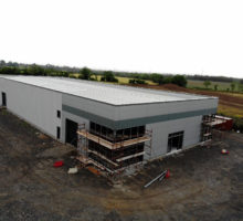 Structural Steel & Cladding for WBD Farm Machinery