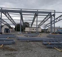 Structural Steel Contract - Town Centre Development, Dunboyne