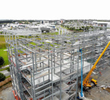 Structural Steel Contract for Ryanair HQ